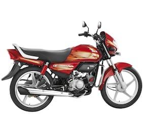 Hero Motocorp HF Deluxe Kick Start Drum Brake Spoke Wheel (Ex-Showroom Price)