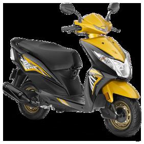 Honda Dio DLX BS-IV (Ex-Showroom Price)