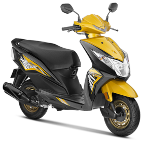 Honda Dio DLX (Ex-Showroom Price)