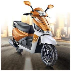 Mahindra Gusto 125 VX  (Orange Rush)  (Ex-Showroom Price)