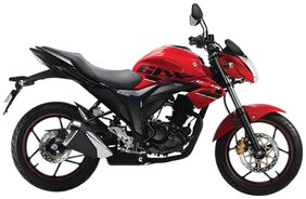 Suzuki Gixxer (Disc) Pearl Mira Red/Glass Sparkle Black (2018 Edition) (Ex-Showroom Price)
