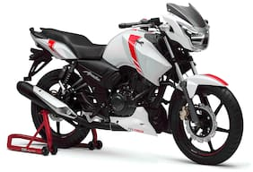 TVS Apache 160 White SP Drum (Ex-Showromm Price)