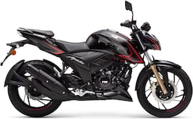TVS Apache RTR 200 4V Dual Channel ABS BS-VI  (Ex-Showroom Price)
