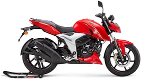 TVS Apache RTR 160 4V BS-VI (Disc) (Ex-Showroom Price)