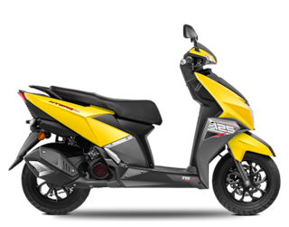 TVS Ntorq 125 BS-VI (Disc) (Ex-Showroom Price)