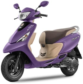 TVS Scooty Zest 110 BS-VI (Matte Series) (Ex-Showroom Price)