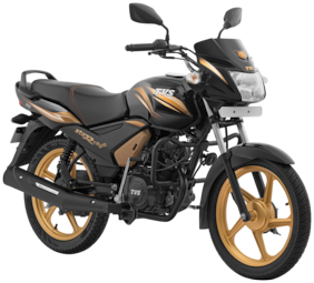 TVS StaR City+ ES Gold Edition (Ex-Showroom Price)