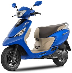 TVS Zest 110 Matte Series (Ex-Showroom Price)