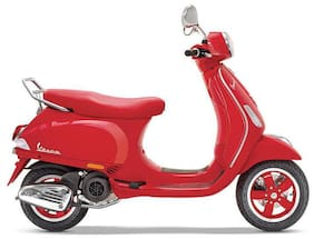 Vespa Red 125 (Ex-Showroom Price)