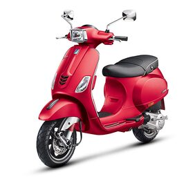 Vespa SXL 125 Matt Red CBS (Ex-Showroom Price)