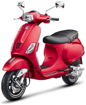 Vespa SXL 125 Matt Red (Ex-Showroom Price)