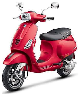 Vespa SXL 150 Matt Red Dragon BSIV ABS  BS-IV (Ex-Showroom Price)