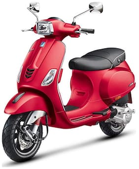 Vespa SXL 150 Matt Red Dragon BS-IV (Ex-Showroom Price)