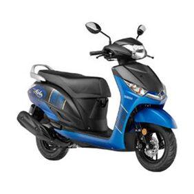 Yamaha ALPHA-Disc Blazing Blue (Ex-Showroom Price)