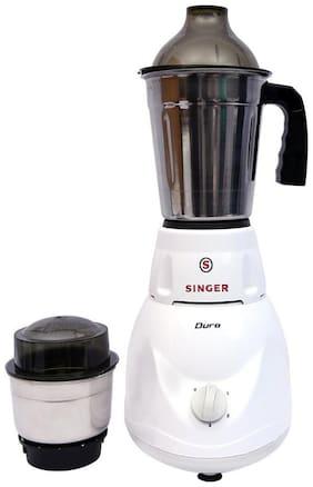 Singer DURO 450 W Mixer Grinder ( White , 2 Jars )