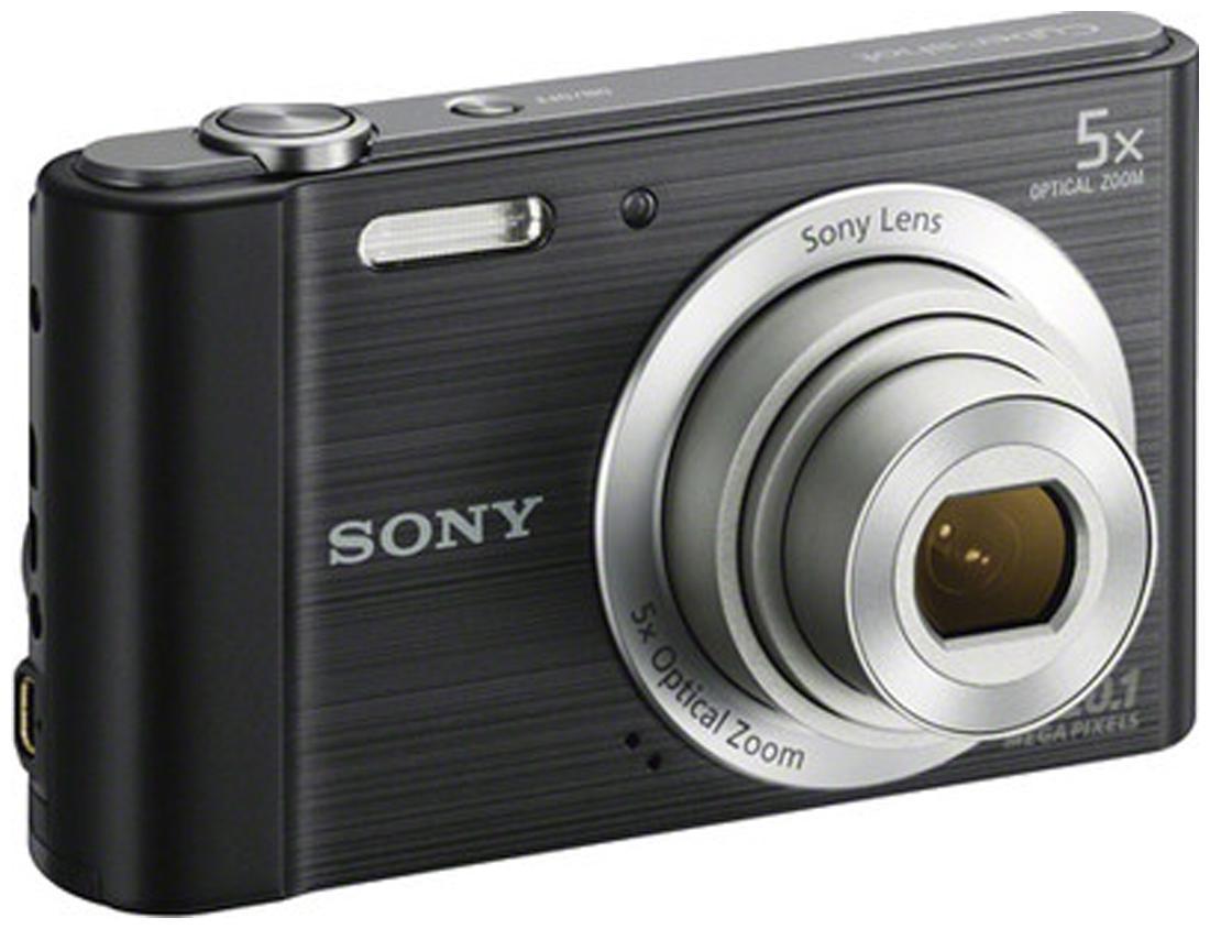 Sony Cyber-shot DSC-W800 Point & Shoot Camera (Black)
