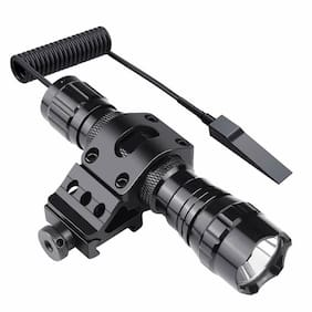 Tactical Strong light Flashlight 1000 Lumens  LED For Camping Hunting Shipping