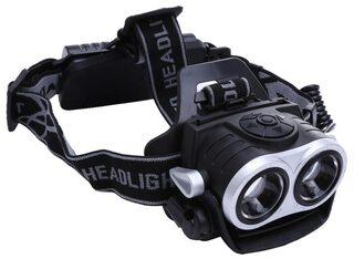 10000Lm 2x T6 LED Rechargeable Zoom 18650 Headlamp Headlight Torch USB