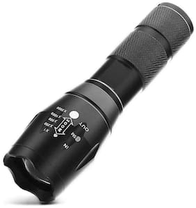 10000Lumen Zoomable LED 18650 Flashlight Focus Torch Lamp Light White Light