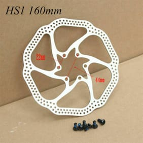 160/180mm 6/7 inch MTB/Road bicycle brake disc for Shimano Sram   mit 6-bolt