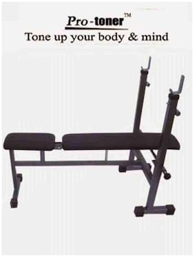 Protoner Weight Lifting Incline Flat 3 In 1 Exercise Bench