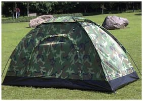 2-3 Person Camo Coloured Picnic Hiking Camping Portable Tent Rbs