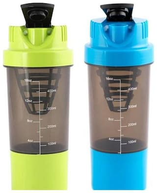 2 pcs. Cyclone Gym Protein Shaker Bottle (Assorted Colors)