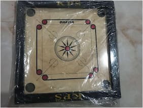 50.8 cm (20 inch) CARROM BOARD  Carrom Board With Free Sticker And Coins
