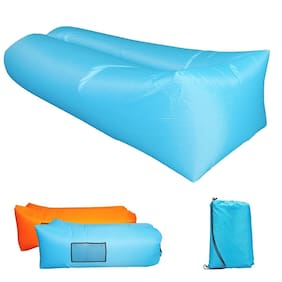 2019 Upgrade Inflatable Lounger | Waterproof Air Sofa for Travelling Swimming US