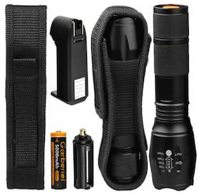250000Lumens Tactical T6 LED Flashlight Torch Light Zoomable+18650+Smart Charger