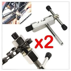 2X Bicycle Bike ATV Chain Breaker Cut Link Remover Splitter Riveting Tool