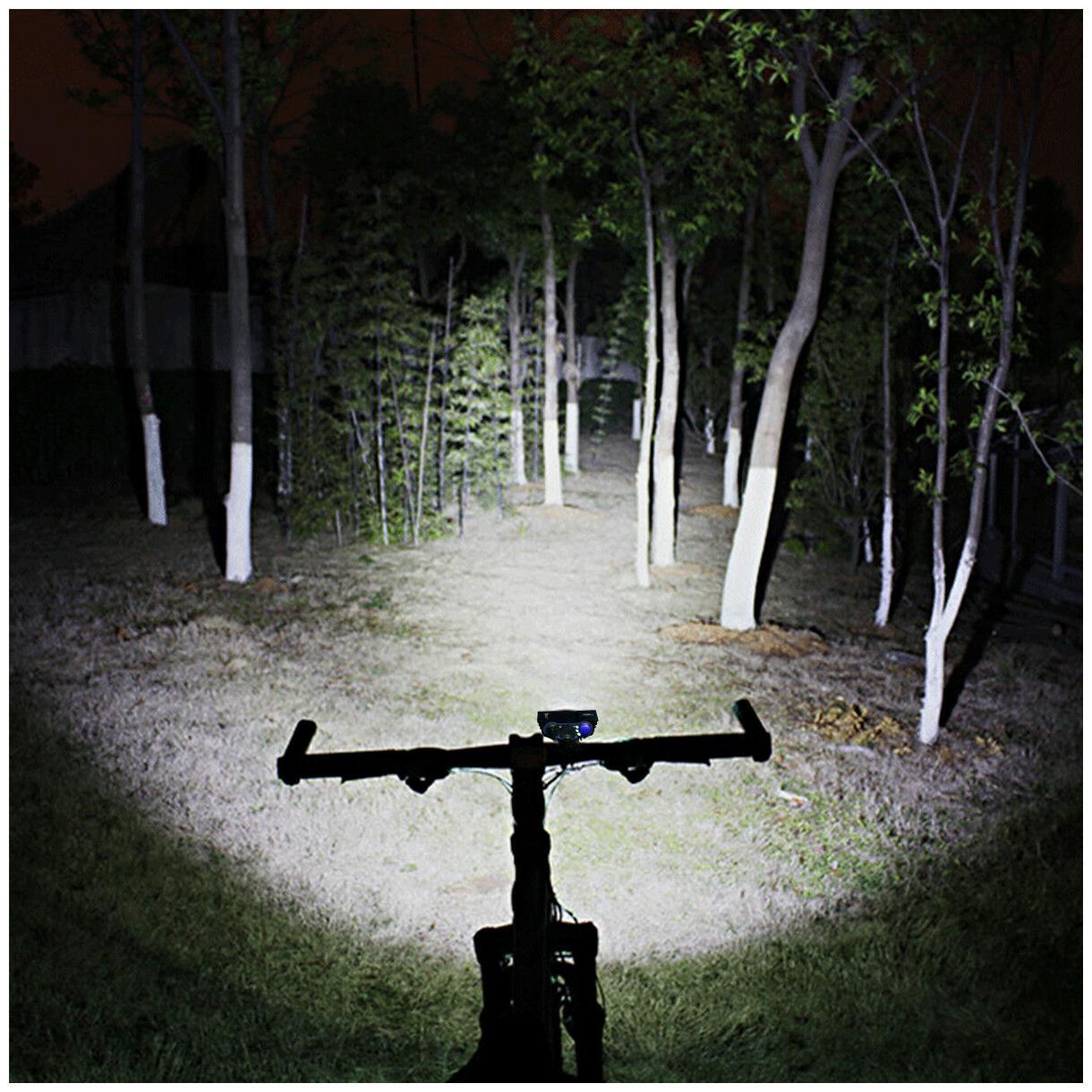 3 x CREE XM-L T6 LED Bicycle bike HeadLight Head Light Lamp Torch Flashlight US