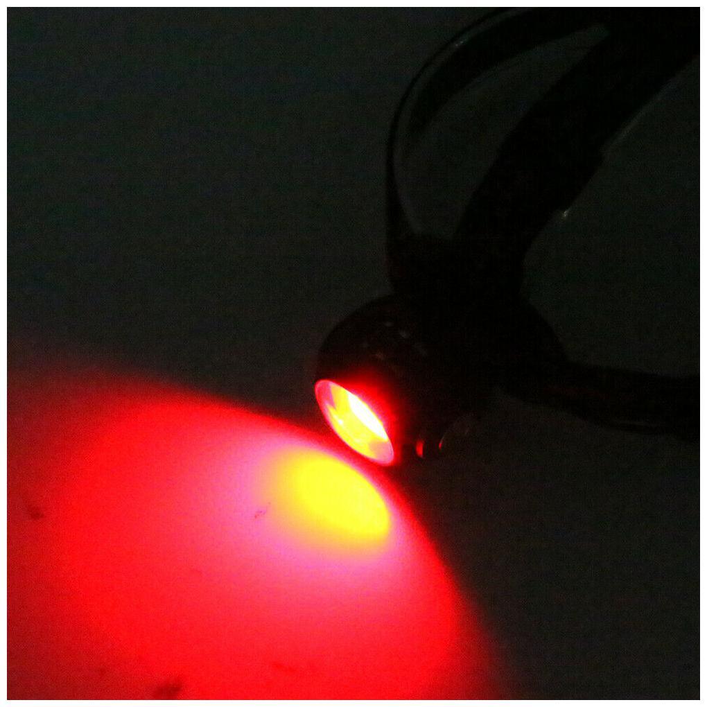 360° Double Sided T6 10W COB LED Headlamp Light Flashlight Headlight Lamp USB