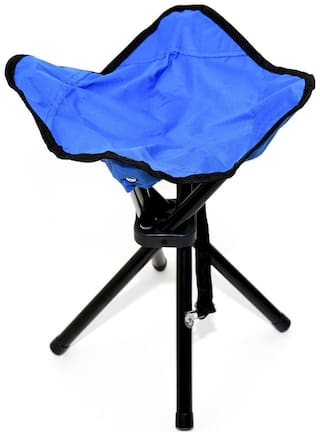4square Foldable Stool Portable Travel Chair Four-Leg Stool for Outdoor Travel (1 pcMultiple Colors)