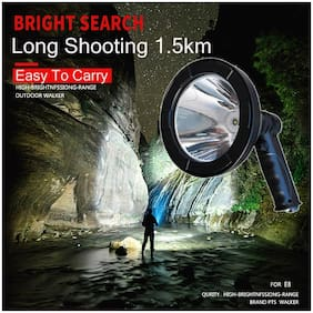 5inch High Power Hunting Light Rechargeable Searching Outdoor Work Night Light