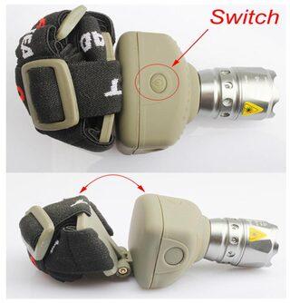 5W CREE Q5 LED Zoom Adjustable Flashlight Head Lamp Light Headlamp 300Lm New