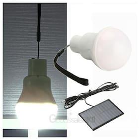 5x Portable Solar Power LED Bulb Lamp Outdoor Garden Camp Tent Fishing Light 3W