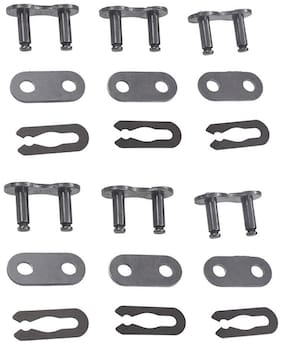 6*415 Chain Master Link Set Fit For 60cc 80cc 2 Cycle Motorized Bicycle Bike
