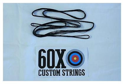 "Blue B50 Dacron 64/"" 68 AMO Recurve Bow String 16 Strands Bowstring Traditional"
