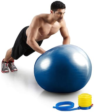 (75 Cm) Exercise Ball Professional Grade Anti Burst Exercise Equipment for Home, Balance, Gym, Core Strength, Yoga, Fitness with Pump