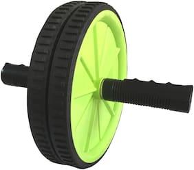 ABB INITIO Polypropylene Roller Ab Exercise Ab Roller Green Black