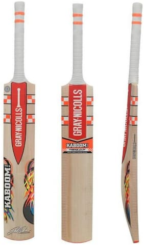 ABS Gray Nicolls Kaboom-GN2.5 English Willow Cricket Bat  (1180 g)