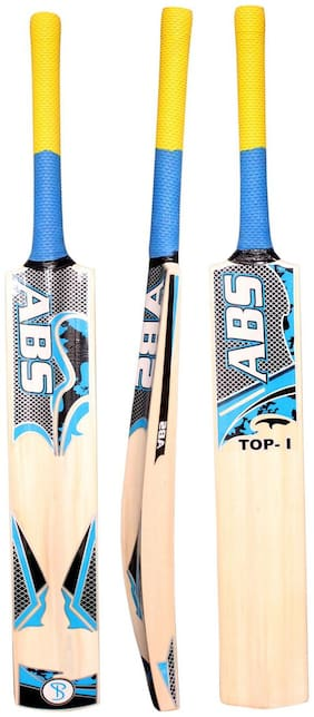 ABS-TOP-1 English Willow Cricket Bat (Color May Vary)(COVER INCLUDED)