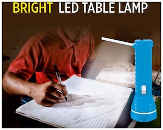 ACME RECHARGEABLE LED TORCH WITH 9 LED TABLE LAMP