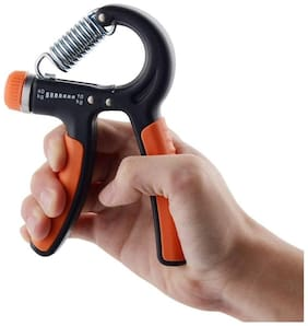 SKYBLUE FASHION Adjustable Best Choice Hand Grip Strengthener Strength Trainer 10-40 KG for Men and Woman Forearm Grip Workout, Multicolor