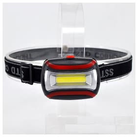 Adjustable Focus  COB Outdoor Headlamp Headlight Torch Lamp