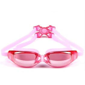 Adult Swimming Goggles Glasses UV Protect Anti-Fog Eye with Adjustable Strap US
