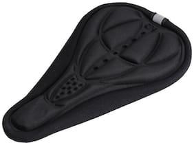AMARDEEP CYCLES Imported Cycling Mtb Bike Bicycle 3D Sponge Saddle Seat Cover Cushion Soft Pad Black