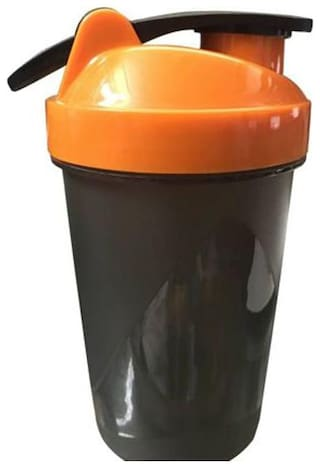 Amazing Gym 400 ml Shaker, Sipper  (Pack of 1, Assorted Colors )
