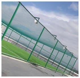 AMZ Standard Cricket Practice/Training Net Green 1 Side (10ftx50ft)